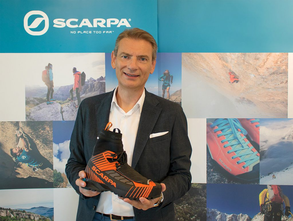 Diego Bolzonello, nuovo AD di SCARPA. Il Presidente Sandro Parisotto: 'Una figura di primo piano per accompagnare l'azienda nella crescita in atto, rimanendo ancorati al tessuto economico del territorio'