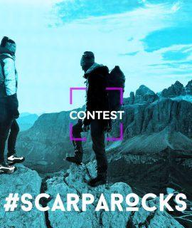 Da oggi al 30 settembre è aperto il concorso per vincere un'esperienza unica sulle Dolomiti: carica una foto su Scarparocks.scarpa.net, fatti votare dagli amici e partecipa all'estrazione di un trekking per due persone con le guide alpine!