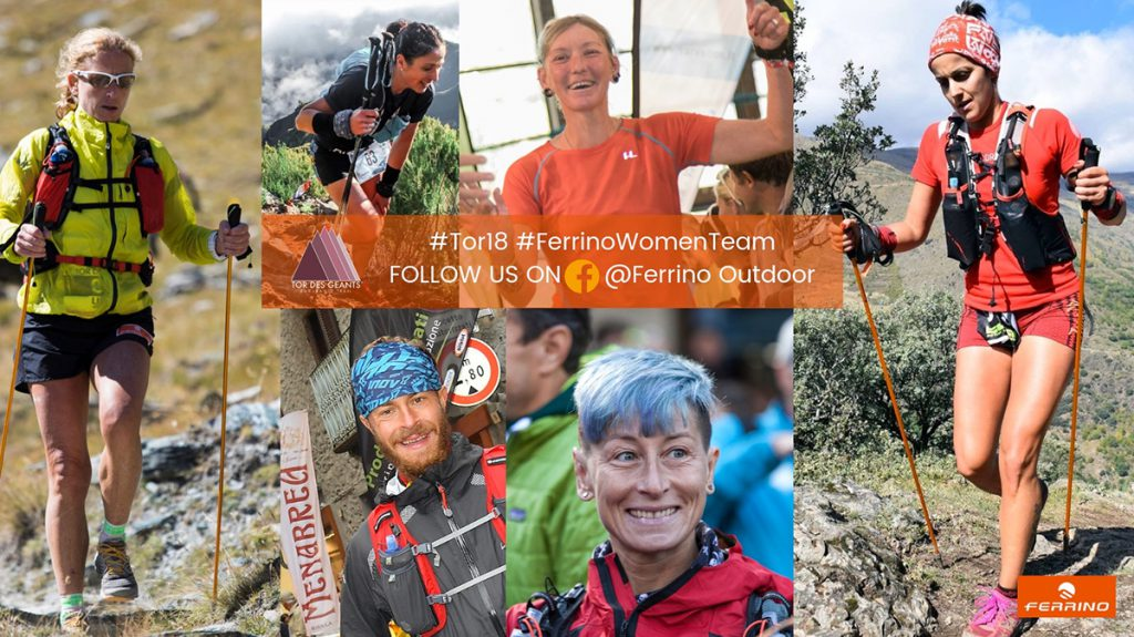 The sponsorship of Tor des Géants, the hardest ultratrail in the world is consolidated and enriched: a new and international Ferrino Women Team lined up at the starting line.
