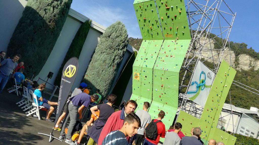 Kong Open Day: nel pomeriggio si terrà anche un gioco di arrampicata a coppie