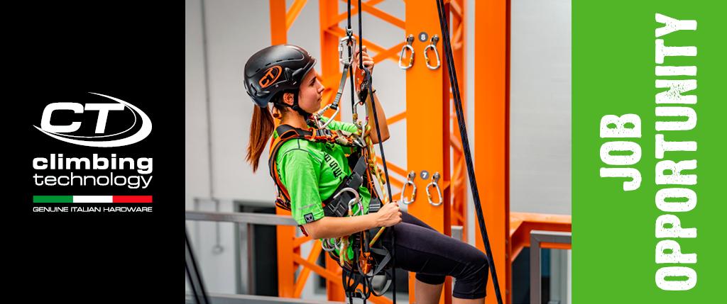 Climbing Technology per il reparto R&D per lo sviluppo di prodotti di arrampicata e alpinismo sta cercando dei Project Leader / Designer.