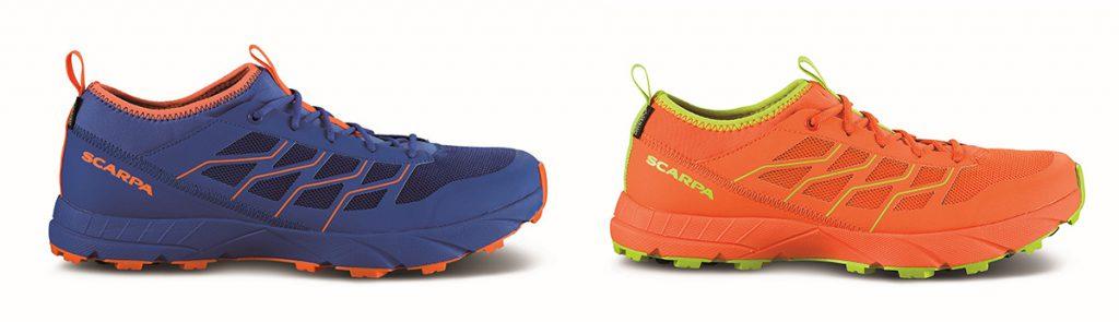 Scarpa alpine running impermeabile, pensata per atleti che vogliono allenarsi o gareggiare anche in condizioni di bagnato.