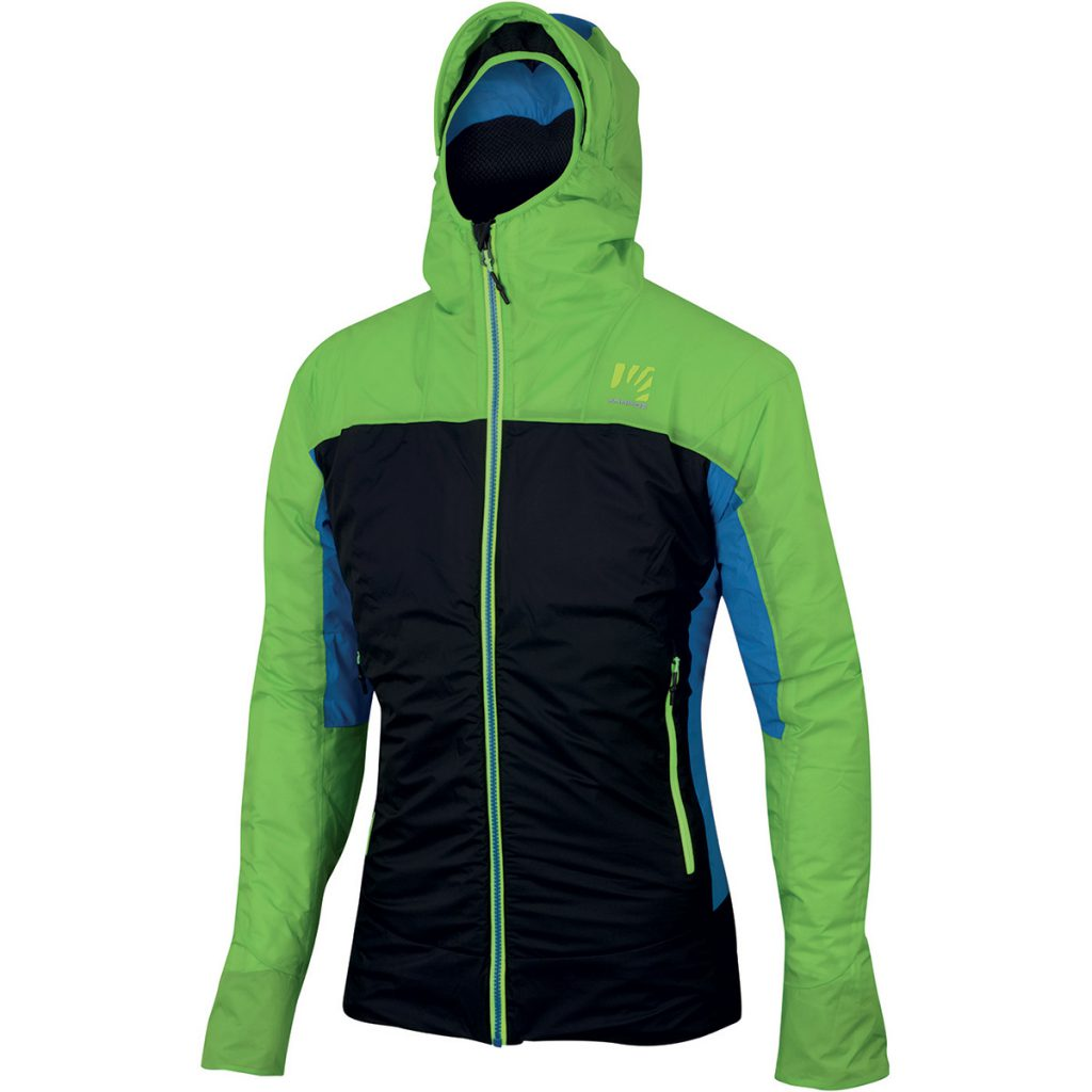 Winter mountaineering jacket Vinson W Jacket by Karpos, lightweight and warm, ideal for winter climbing, ski mountaineering, backcountry skiing.