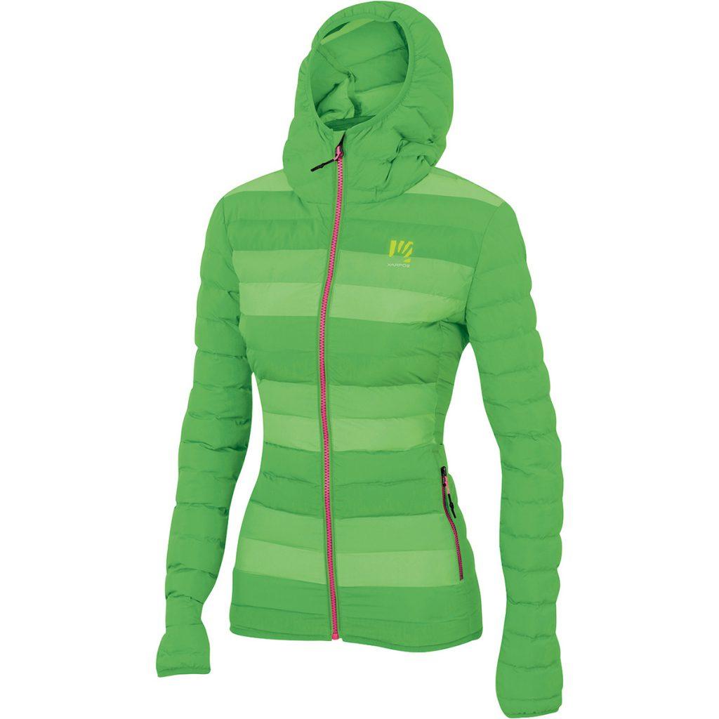 Giacca montagna donna Brendol W Jacket di Karpos, del design femminile, garantisce una perfetta protezione per la maggior parte delle attività invernali.
