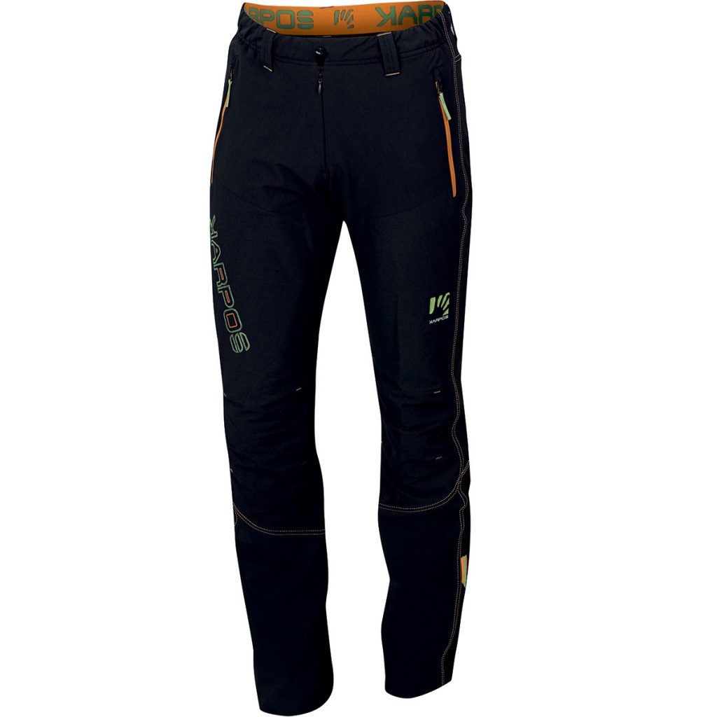 Mens mountaineering pants Ramezza Pant by Karpos, for demanding alpinism and ski mountaineering in harsh environments and extreme weather conditions.