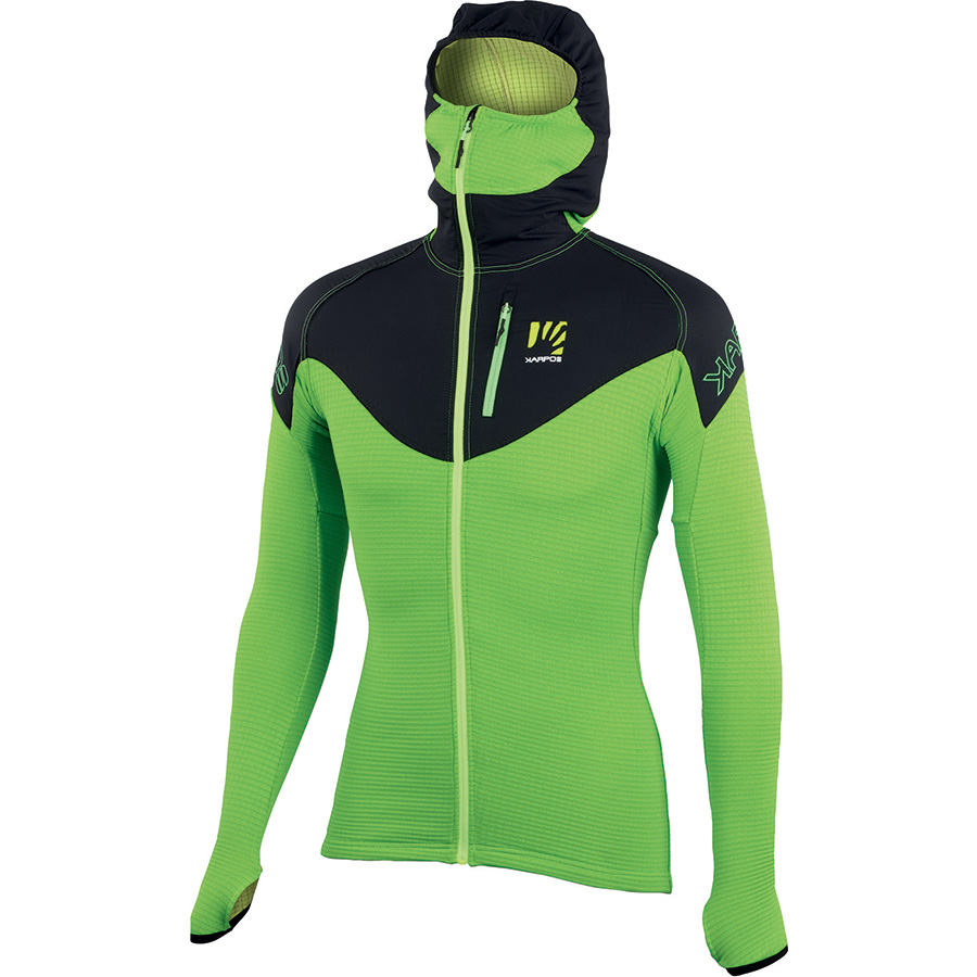 Fleece jacket K-Performance Fleece by Karpos: a very high-performance technical fleece climbing, alpinism, ski mountaineering