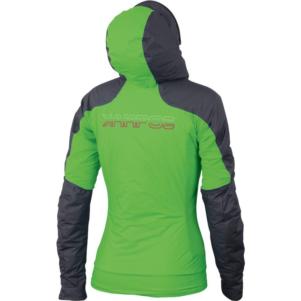 Lightweight womens mountaineering jacket Vinson W Jacket by Karpos, for winter climbing, ski mountaineering, backcountry skiing.