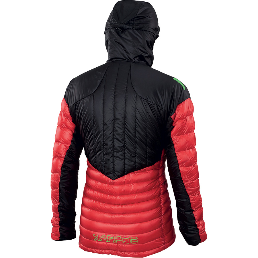 Lightweight down jacket K-Performance Light Down by Karpos for fast and light alpinism with European white goose down for intensely cold conditions.