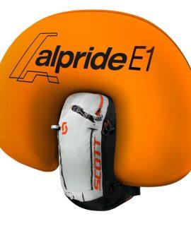 Lo zaino antivalanga Alpride E1 è l'ultima proposta di zaini antivalanga di SCOTT con l'innovativo sistema elettrico Alpride E1.