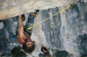Patxi Usobiaga al La Sportiva climbing meeting dal 21 al 23 settembre 2018 a Rodellar in Spagna