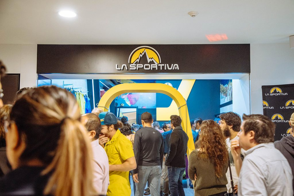 La Sportiva opens its brand store in Mexico City.