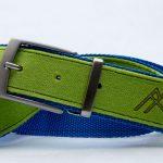La cintura prodotta con gli scarti di lavorazione delle pelli di foca Pomoca