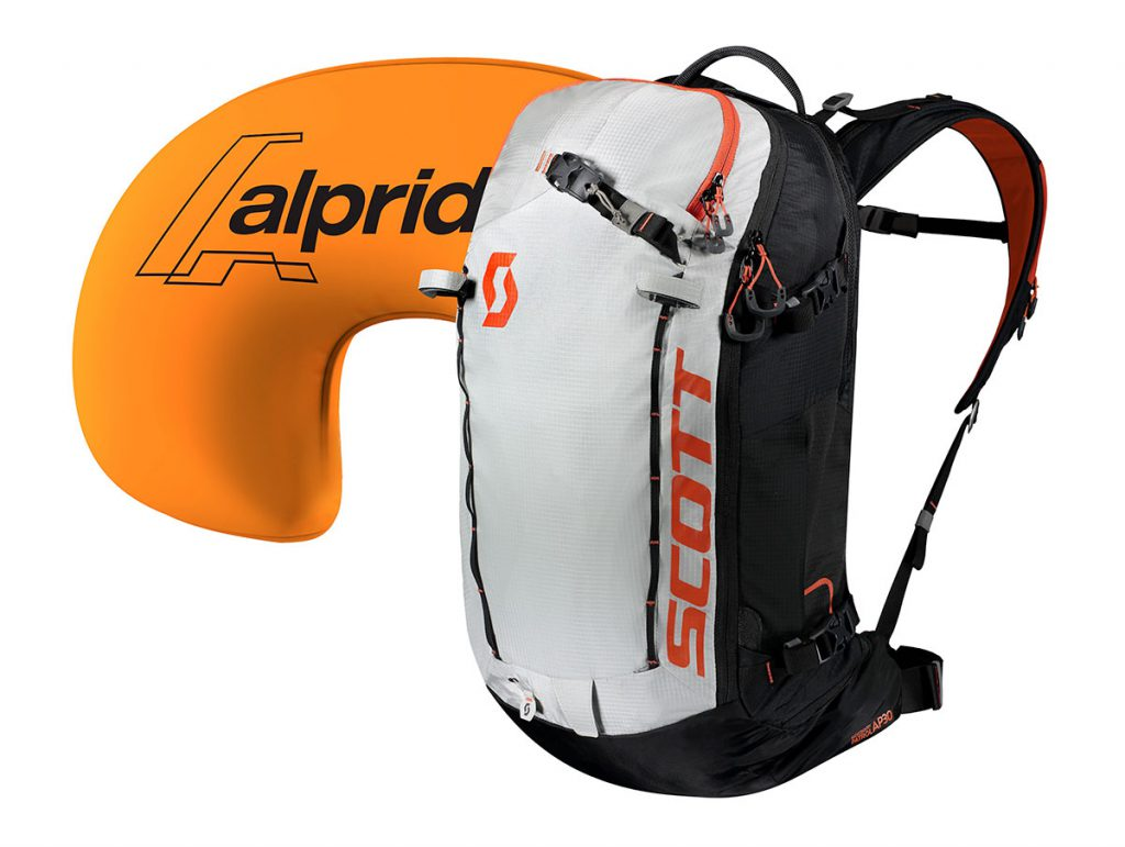 The SCOTT Patrol E1 30 Backpack Kit is the ultimate freeskiing avalanche backpack featuring the all new Alpride E1 Airbag system