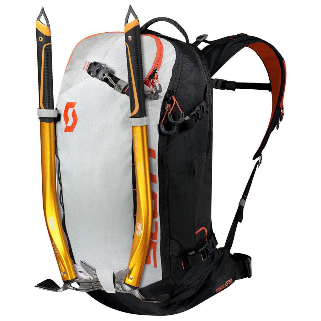 The SCOTT Patrol E1 30 Backpack Kit is the ultimate freeskiing avalanche backpack featuring the all new Alpride E1 Airbag system.