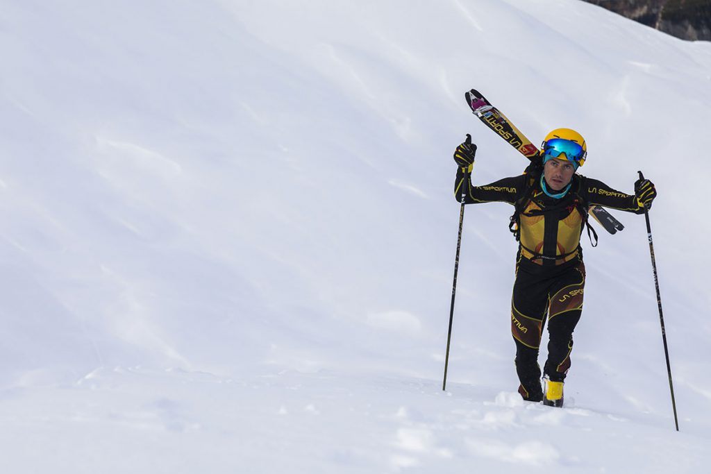 Michele Boscacci, the world champion ski mountaineer born in 1990 continues his partnership with La Sportiva