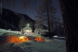 Rifugio Toesca si trova ad un'ora di macchina da Torino ospiterà il Campo Base Ferrino © Cristian Della Lucia