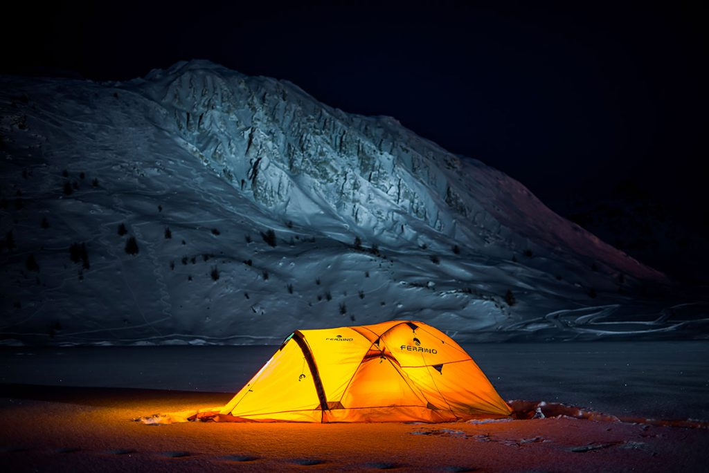 Ferrino Basecamp Experience with French Arctic explorer Alban Michon © Andy Parant