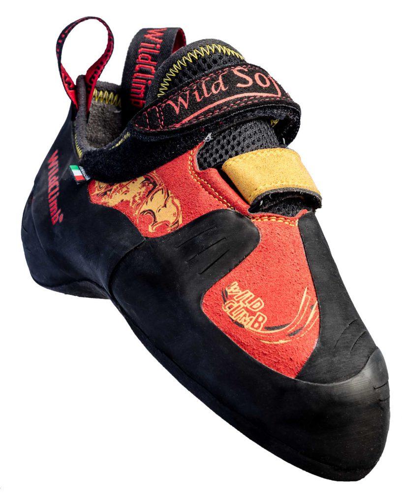 Le scarpette d'arrampicata Wild Climb Pantera Soft uniscono design, comfort e soprattutto precisione e sensibilità dal boulder alle vie sportive