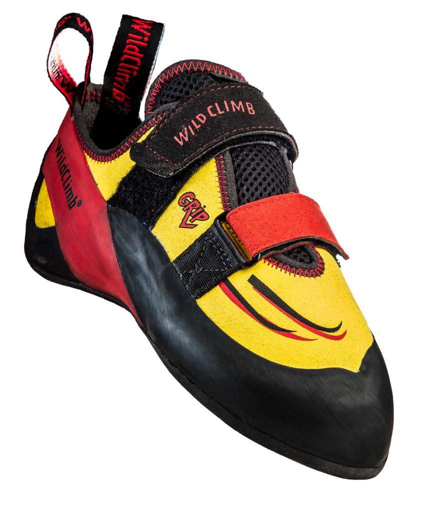 Le scarpette da arrampicata Grip V di Wild Climb è un modello pensato e progettato per dare un nuovo standard alla scarpa allround.
