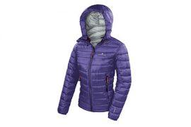 Giacca alpinismo donna Viedma Jacket di Ferrino, con l'innovativa imbottitura PrimaLoft® Gold, simili alla piuma, per la montagna in ogni stagione.