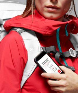 Con Mammut Connect la compagnia Outdoor svizzera lancia i primi prodotti con tecnologia NFC nel mondo dell'outdoor