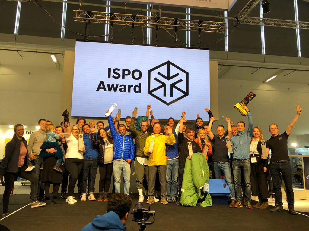 The innovative Himalayan mountaineering boot and arctic crossing boot Olympus Mons Cube by La Sportiva is Gold Winner at the ISPO Awards.