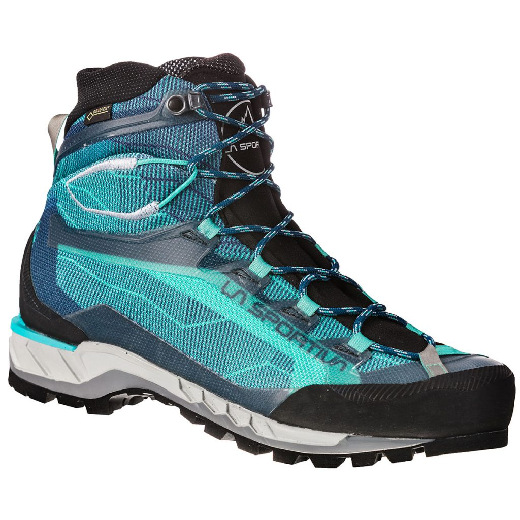 Women's Hiking Boots with Vibram sole and waterproof Goretex lining, lightweight and flexible. particularly suitable for alpine hiking.
