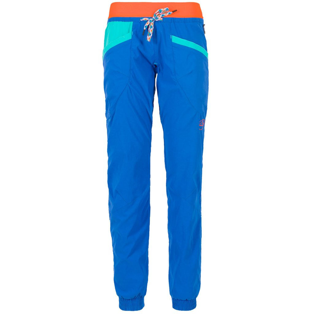 Durable and highly stretchable climbing pant La Sportiva Mantra Pant W, dedicated to the climbing girls out-there!