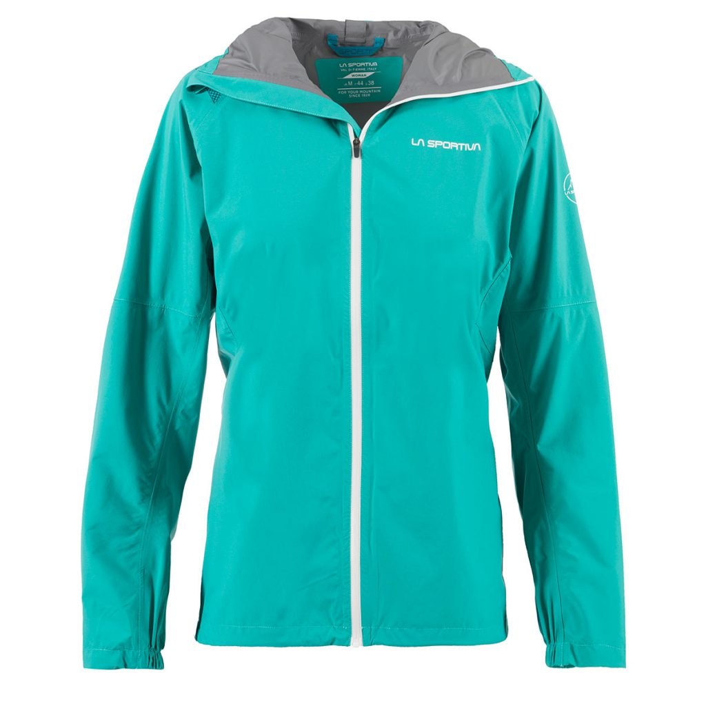 Trail running jacket La Sportiva Run JKT by La Sportiva, highly breathable and waterproof, ideal for fast escapades in the mountains.