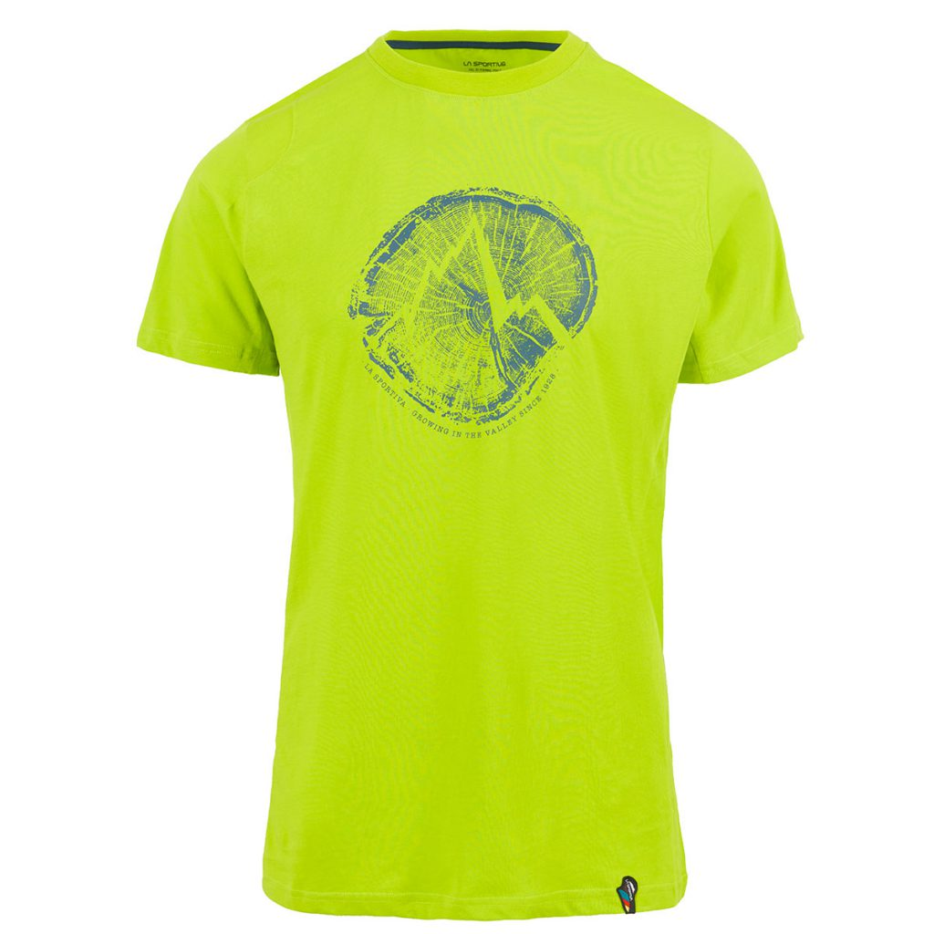 Maglietta da arrampicata in cotone organico Cross Section T-Shirt di La Sportiva