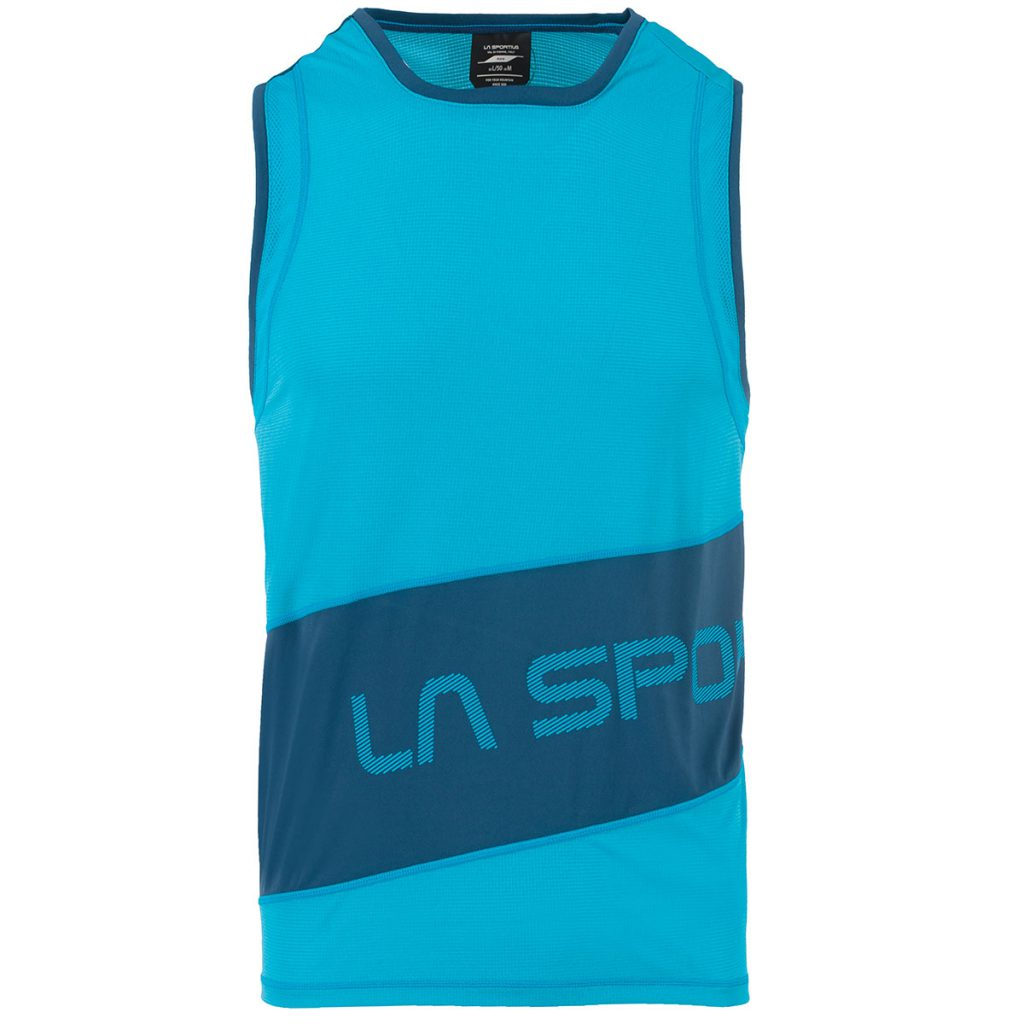 Trail running tank top La Sportiva Track Tank for warm weather mountain running