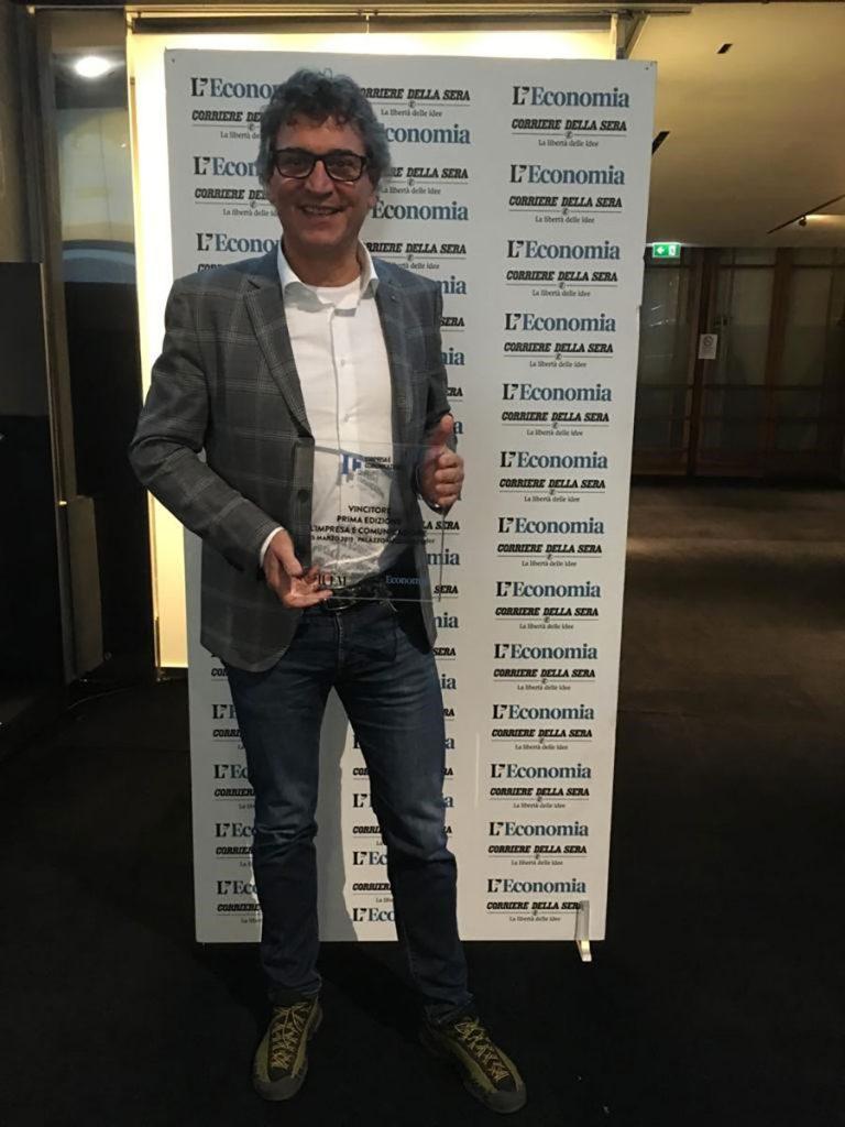 Miglior comunicazione: l'azienda trentina La Sportiva vince il premio tra 500 PMI italiane indetto dal Corriere della Sera e Università IULM Milano.