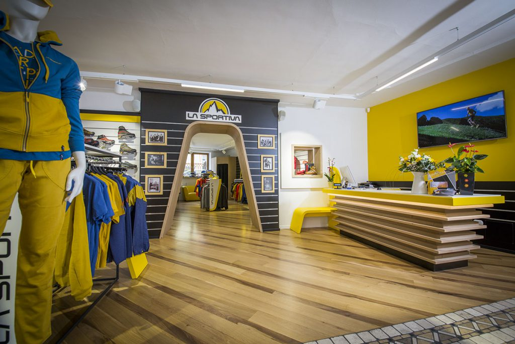 La Sportiva Shops: two new single-brand stores open in April for the Trentino company in Trento and Pozza di Fassa