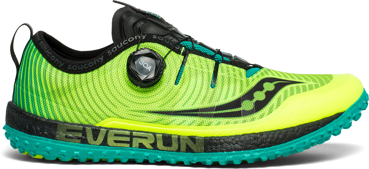 Womens Trail running shoe with Boa System Saucony Switchback ISO