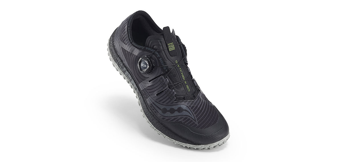 Trail running shoe with Boa System Saucony Switchback ISO