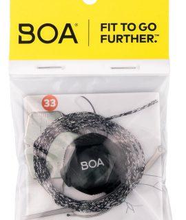 Il Boa Repair Kit: le riparazioni possono essere effettuate in maniera facile e veloce utilizzando il kit di rotella e laccio compatibili con il tuo sistema Boa.