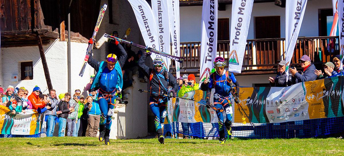 Gli alpini Robert Antonioli, Michele Boscacci e Matteo Eydallin hanno vinto il Trofeo Mezzalama 2019. Meravigliose Alba de Silvestro, prima fra le donne e Giulia Murada seconda.
