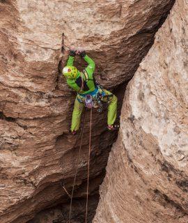 Karpos Experience e l'arrampicata in Giordania con Manrico dell'Agnola