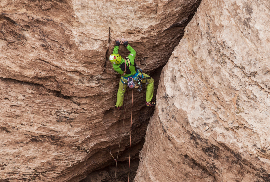 Karpos Experience and the rock climbing in Jordan with Manrico dell'Agnola