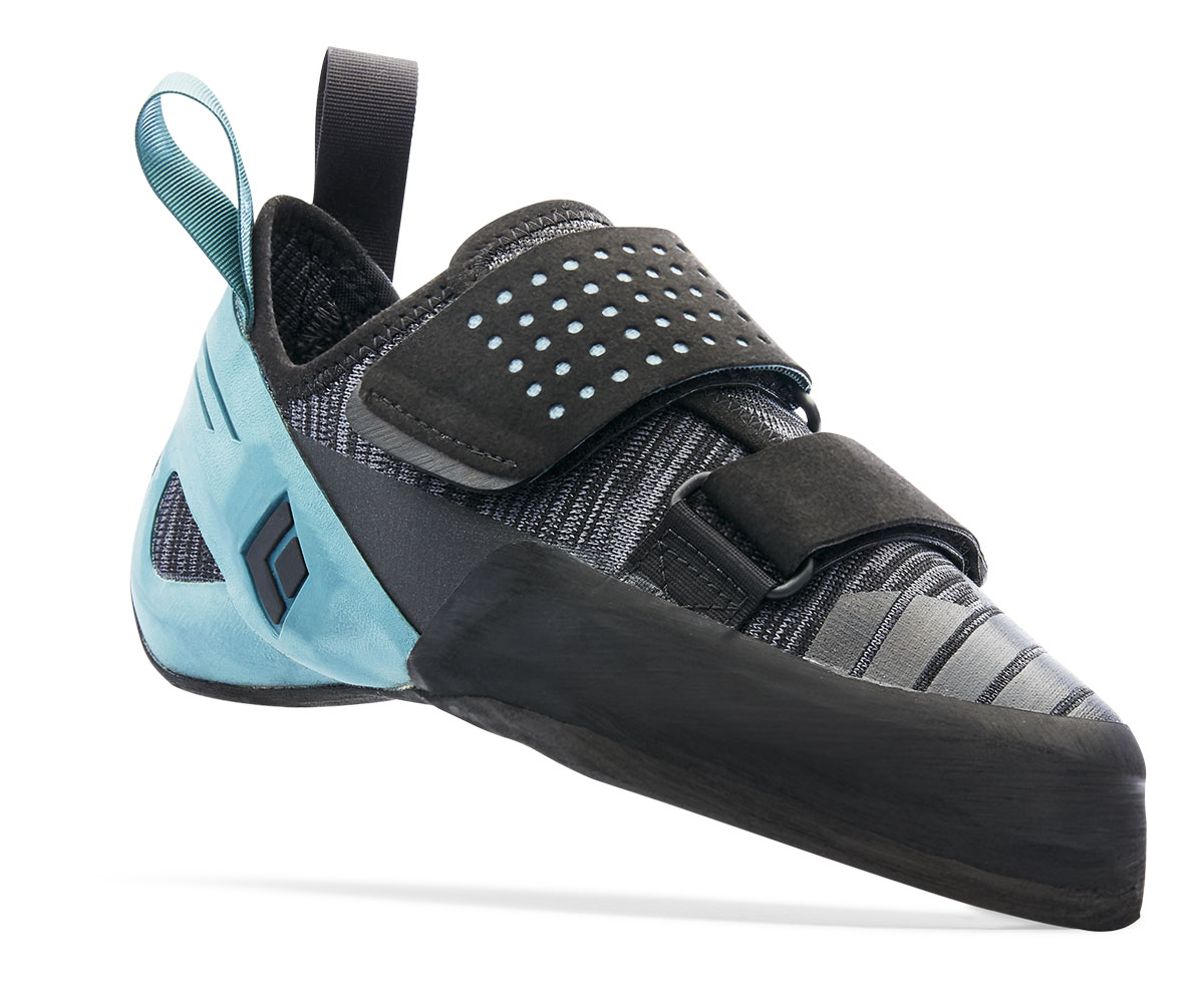 Zone Shoes are Black Diamond's velcro climbing shoes for the crags or indoor gyms featuring award-winning comfort, breathability and precision.