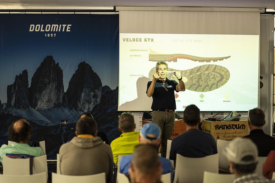 Dolomite presenta il suo team di Guide Alpine: le scarpe ai piedi dei professionisti della montagna insieme per un'altra stagione