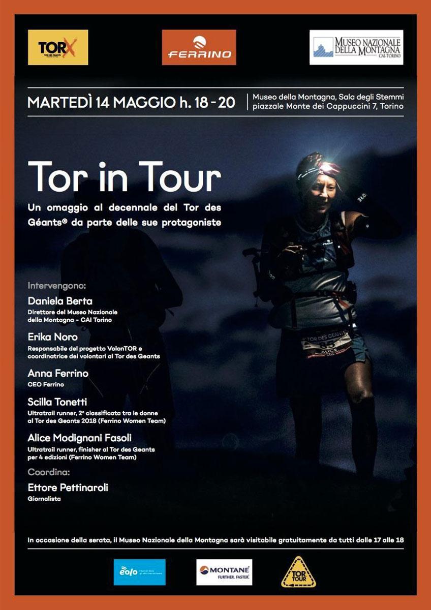 Tor des Géants compie 10 anni e il 14 maggio alle 18:00 presso il Museo Nazionale della Montagna del CAI Torino volontari, atleti, organizzatori e sponsor dell'endurance trail più duro al mondo si raccontano