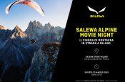 Salewa Alpine Movie Night porta il cinema di montagna in strada a Milano il 23 maggio