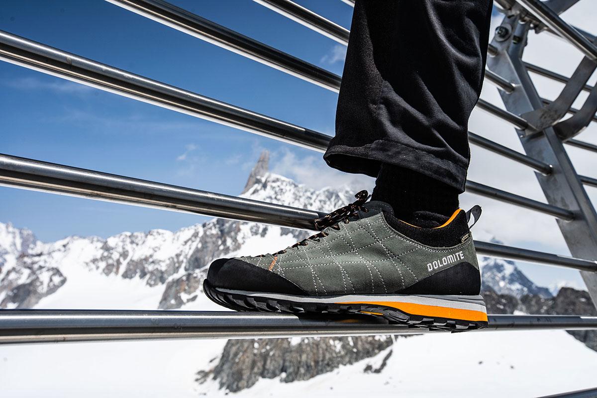 Dolomite sarà fornitore ufficiale delle calzature per tutti gli addetti e i collaboratori della funivia Skyway Monte Bianco per i prossimi 2 anni.