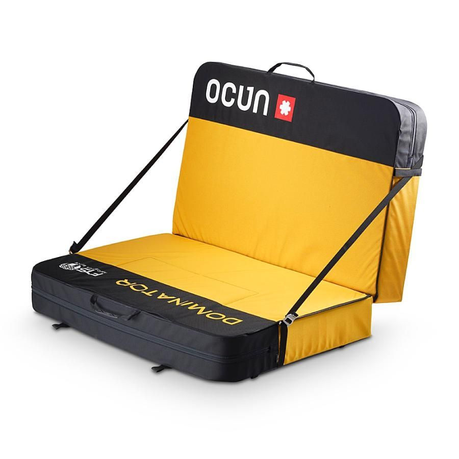 Bouldering crash pad Paddy Dominator, designed for the most demanding climbing, with extremely high energy absorption foam for superior protection.