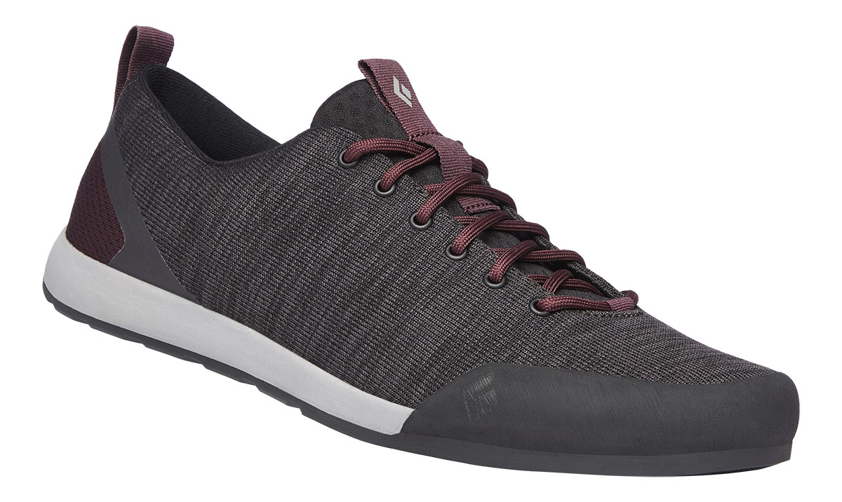 Black Diamond shoe Circuit with collapsible heel for easy use at gym or crag