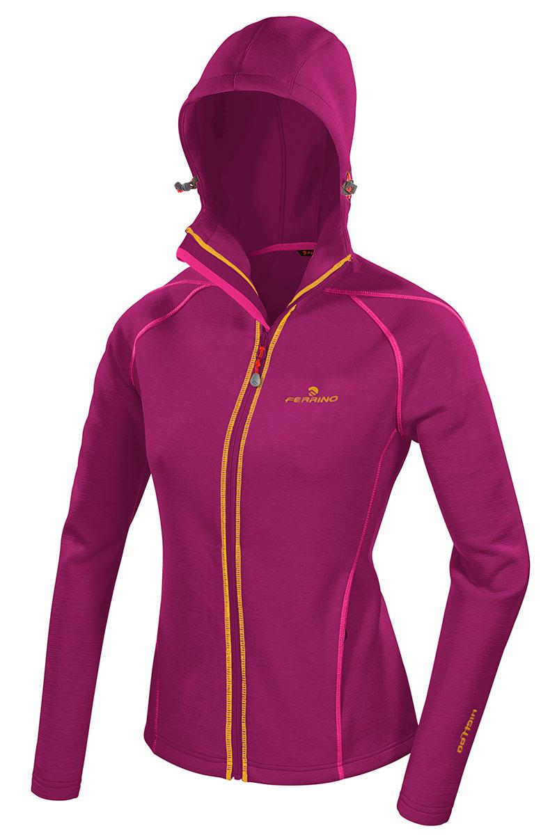 Congaree Jacket è una felpa tecnica, un secondo strato ideale come termico estivo utilizzabile sia durante le escursioni che in viaggio. Disponibile sia da uomo sia da donna.