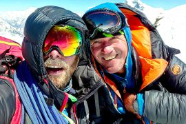Mammut Pro Team athlete Marek Holeček and Zdeněk Hák are the first alpinist to conquer the north-west face of Chamlang (7321m) in the HImalaya, Nepal.