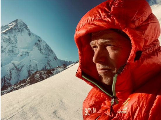 Boa pioneer and Austrian mountaineer Max Berger has paraglidied off the Shoulder of K2 at an altitude of almost 8000m to end his Climb2Fly project.