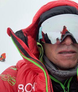 Austrian alpinist and Boa pioneer Max Berger on Broad Peak